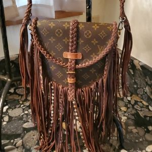 Louis Vuitton Vintage Fringe bag